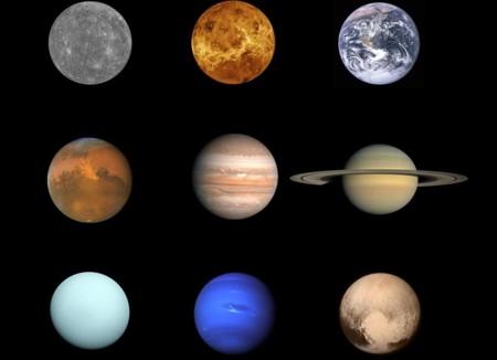 Plutón ya está en la histórica foto completa del Sistema Solar
