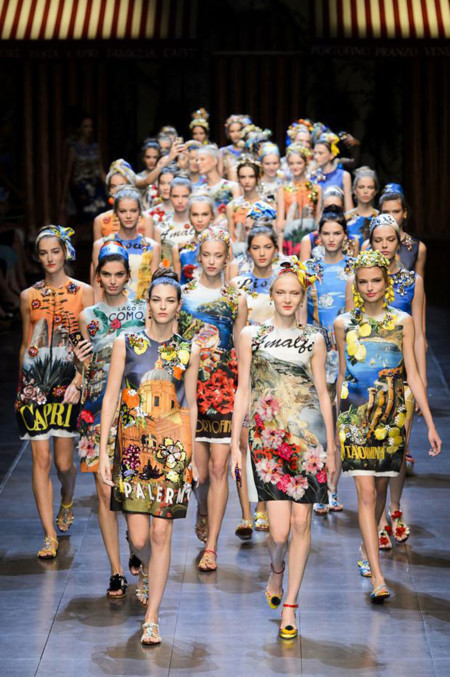 Desfile Dolce & Gabbana primavera-verano 2016 MFW, más de lo mismo