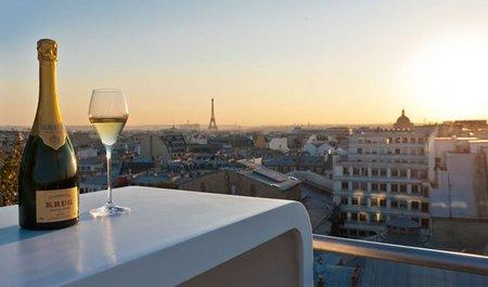 'Krug en Capitale', un descubrimiento gastronómico efímero con vistas sobre París