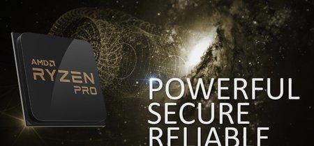 AMD nos muestra los primeros ordenadores con corazón Ryzen Pro para el mercado empresarial