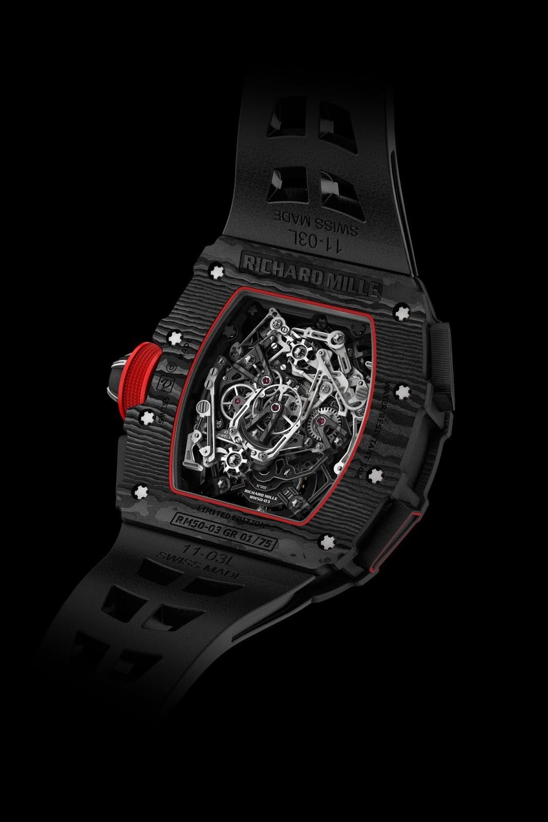 Foto de RM 50-03 Tourbillon Split Seconds Chronograph Ultralight McLaren F1 (1/5)