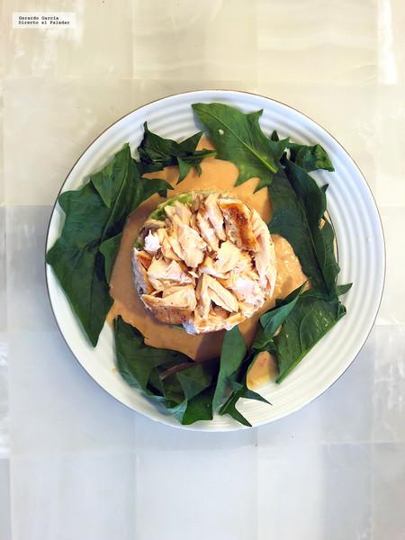 Ensalada Quinoa Y Salmon
