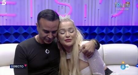 Luis Rollán y Emmy Russ en Secret Story