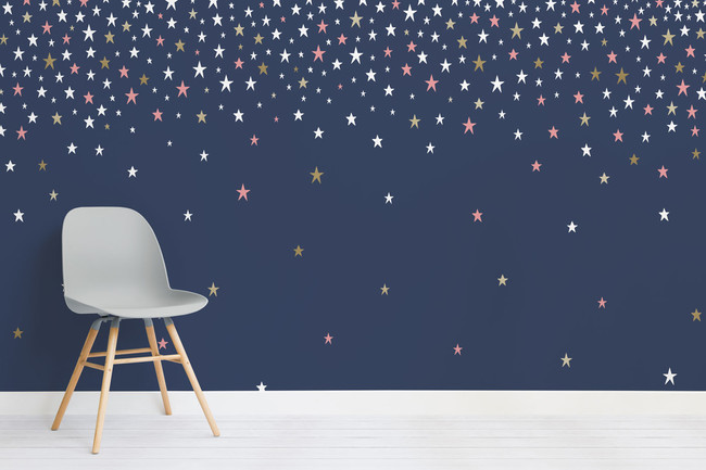 Falling Star Navy Chair Web
