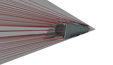 hyperloop flujo de aire