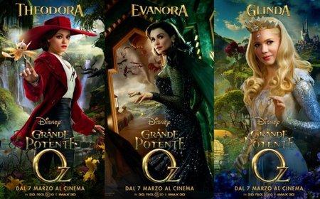 Mila Kunis, Rachel Weisz y Michelle Williams son las brujas del mundo de Oz