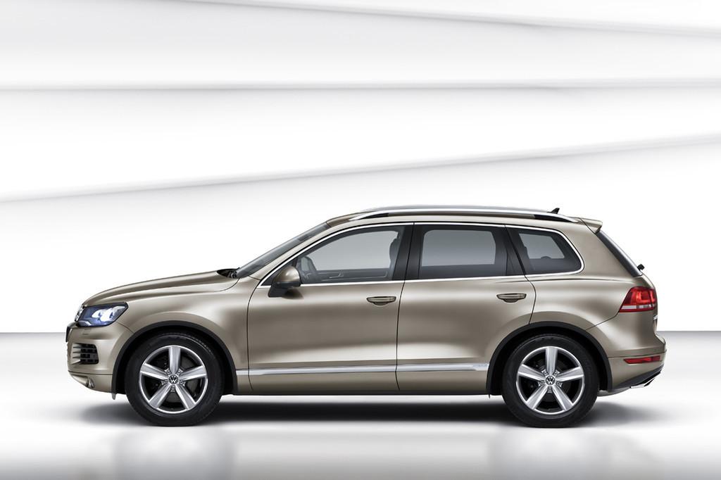 4on 2010 Volkswagen Touareg