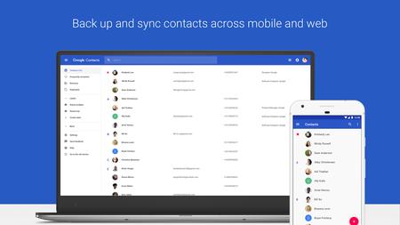 Contactos de Google llega oficialmente a cualquier dispositivo con Android 5.0 o superior
