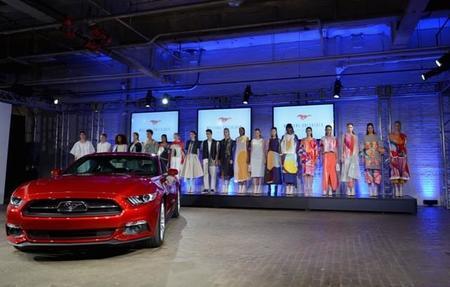 Ford Mustang 2015 se vuelve de alta costura