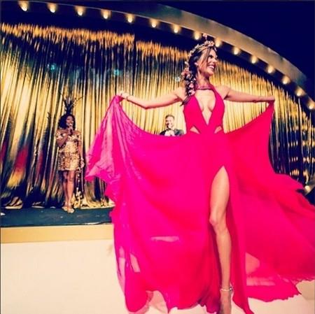 Vogue Brasil vestido Alessandra Ambrosio