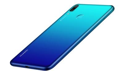 Huawei Y7 2019 Design Blue