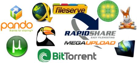 Métodos para compartir archivos y contenidos en Internet (I): Descargas directas