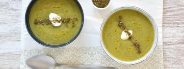 Cómo hacer crema de calabacín en olla de cocción lenta, una receta facilísima para cenas saludables