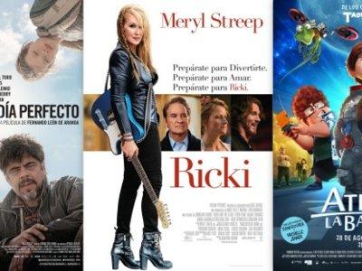 Estrenos de cine | 28 de agosto | Ricki atrapa la bandera en un día perfecto