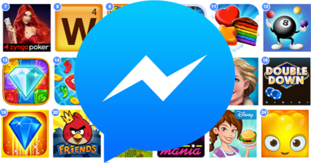 Facebook Messenger pronto tendrá su propia plataforma de juegos integrada