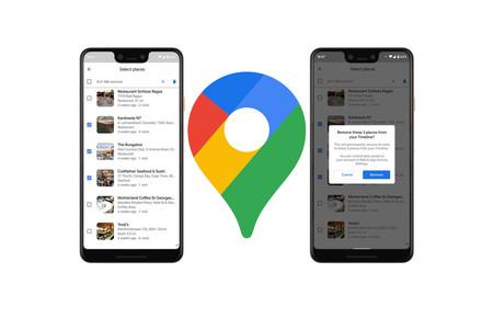 Cómo borrar varios sitios visitados de la cronología de Google Maps
