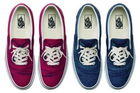 Un par de zapatillas Vans diseñadas por Donny Miller
