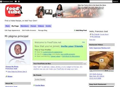 FoodTube.net, más videorecetas de cocina