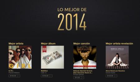 Lo mejor del 2014 en música, películas y aplicaciones según iTunes México