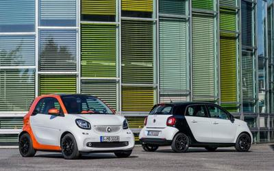 Smart Fortwo y Forfour 2015