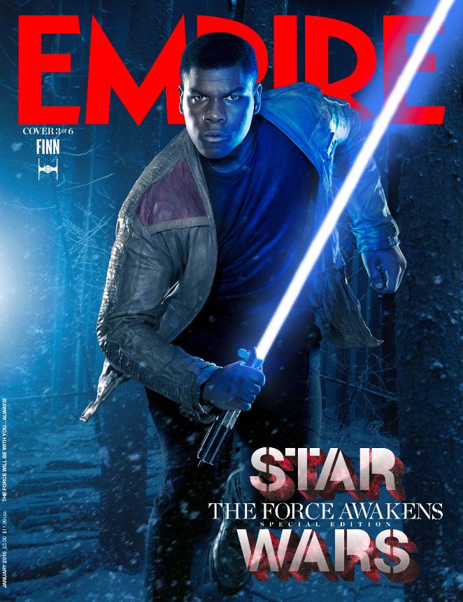 Foto de 'Star Wars: El despertar de la fuerza': 6 portadas de Empire con los protagonistas (3/6)