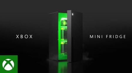 El mini refrigerador Xbox Series X estará disponible esta temporada navideña: el meme pasó a ser un anuncio durante E3