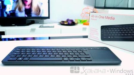 Microsoft All-in-One Media Keyboard, análisis