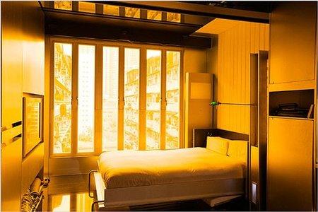 casas poco convencionales - hong kong - dormitorio