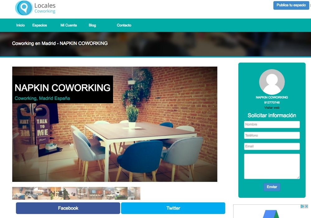 Locales coworking