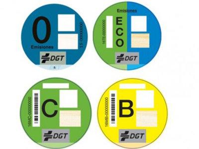 Nuestros coches tendrán ahora etiquetas en base a su potencial contaminante