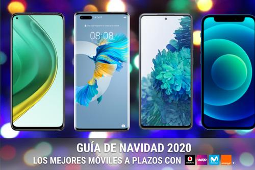 Las mejores ofertas en móviles baratos con Movistar, Vodafone, Orange y Yoigo en navidad 2020