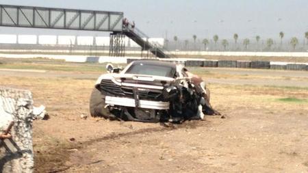 McLaren MP4-12C accidente