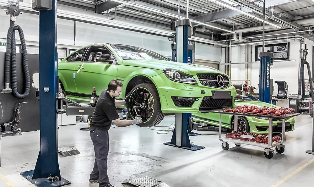 Foto de Mercedes C63 AMG Coupe Legacy Edition (8/26)