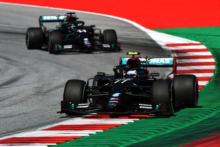 Bottas Hamilton Austria F1 2020