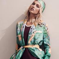 Karmen Pedaru nos acerca el buen tiempo en la colección H&M Studio Primavera-Verano 2015