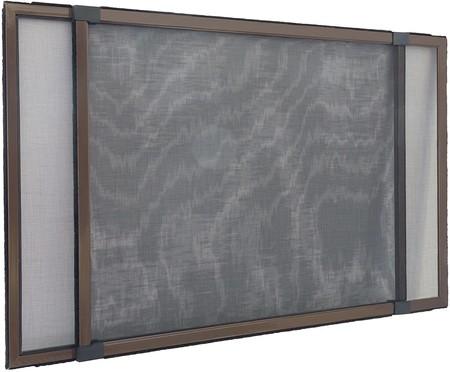 Mosquitera extensible/Easy Slide para ventanas y puertas con raíles de persiana enrollable