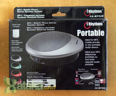altavoz portátil CA-MP50E de iRhythms