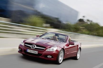 Mercedes-Benz SL 2008, las fotos oficiales y datos