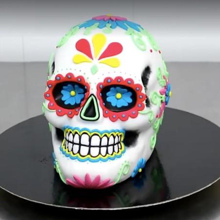 Comida de EsCultura: para el Día de Muertos, un pastel de calaverita