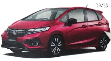 Al Honda Fit aún le queda cuerda, se filtra su facelift antes de su lanzamiento en Japón