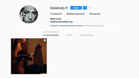 Blake Lively Borra Todo Su Instagram Y Solo Deja Una Publicacion La De Su Nueva Pelicula