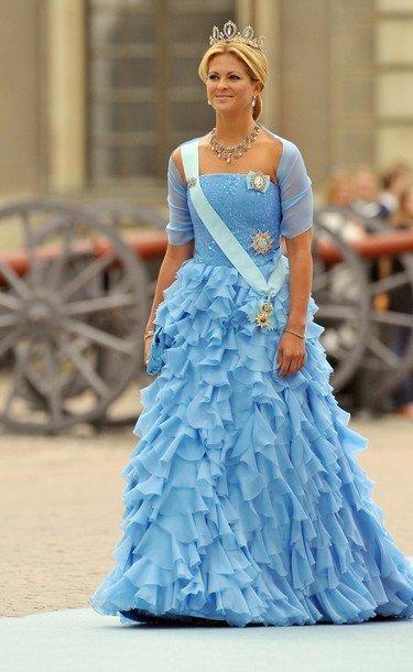 Boda de la Princesa Victoria de Suecia, ceremonia: Princesa Madeleine