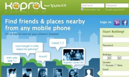 Yahoo se hace con Koprol, una red social de localizaciones