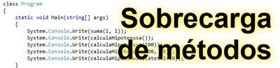 Sobrecargando los métodos en C#