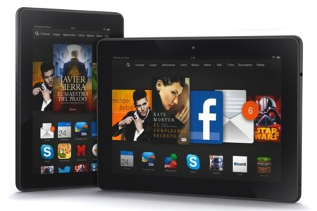 Kindle Fire HDX familia