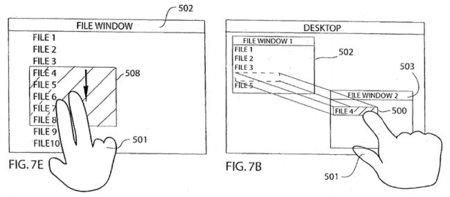 Apple se hace con la patente de sus gestos multitáctiles y nos recuerda el día en que pensaron en un Mac táctil