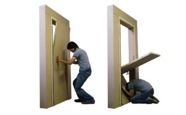 Puertas especiales para terremotos
