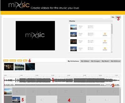 Mixsic, para montar tus propios vídeos musicales