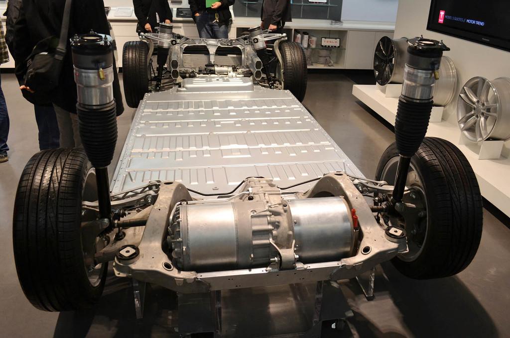 Tesla Model S motores