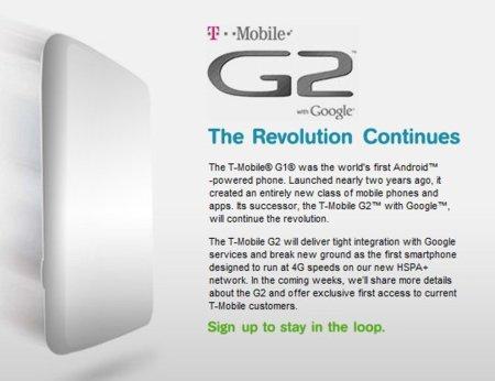 T-Mobile G2, el primer móvil Android con tecnología HSPA+